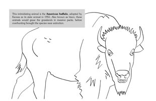 Kansas day coloring pages for kids ~ Kansas Kids - Color