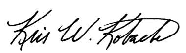 image of the Secretary's signature